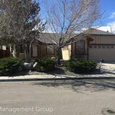 Rental info for 4705 Brittany Court in the Reno area
