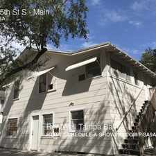 Rental info for 344 35th St S in the United Central area
