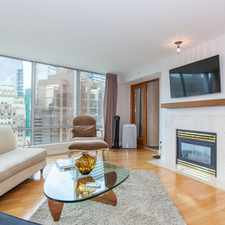 Rental info for W Hastings St & Hornby St in the Downtown area
