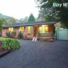 Rental info for Spacious Family Comfort Within A Private Lifestyle in the Melbourne area