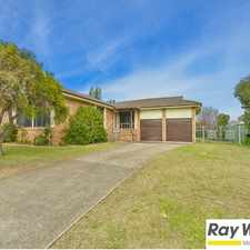 Rental info for Large 4 bedroom family home in perfect location in the Sydney area