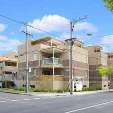 Rental info for BOUTIQUE APARTMENT LIVING IN CENTRAL OAKLEIGH in the Melbourne area
