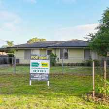 Rental info for YOUR FAMILY HOME AWAITS!!! in the Perth area