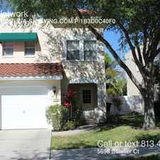 Rental info for 5658 Samter Ct in the Tampa area