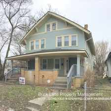 Rental info for 540 N. Dearborn St. in the Indianapolis area