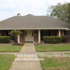 Rental info for 12607 Fairhaven Dr. in the Baton Rouge area