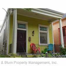 Rental info for 922 Ninth St. in the Irish Channel area