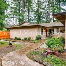 Rental info for 11380 SW Foothill Drive in the Portland area