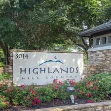 Rental info for Highlands Hill Country in the Austin area