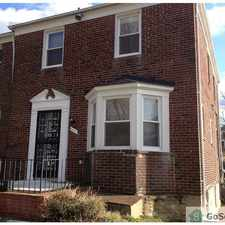 Rental info for This end of unit 3 bedroom and 2 full bath Townhome located near Morgan State is newly renovated with all the amneties your family needs such as Central Air, Fenced in backyard, jacuzzi bath-tub, Washer/Dryer, etc. Call Now to schedule a showing. in the Morgan State University area