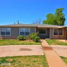 Rental info for 4120 Chicago Avenue in the Lubbock area