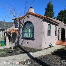 Rental info for 3654 Victor Avenue in the Redwood Heights area