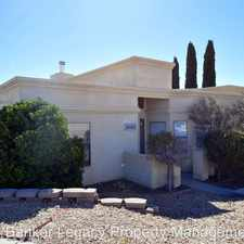 Rental info for 1820 ROSEWOOD AVE NW in the Albuquerque area
