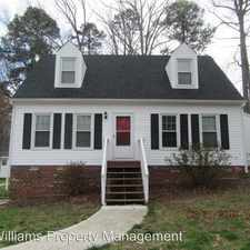 Rental info for 8407 Boones Trail Rd