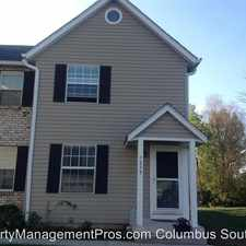 Rental info for 7839 Meadowhaven Blvd in the Columbus area