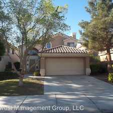 Rental info for 9837 Peseo Cresta Avenue in the Peccole Ranch area