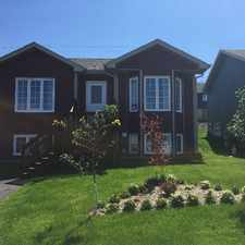 Rental info for Spacious 2 Bedroom apartment - 33A Sgt. Donald lucas Drive in the St. John's area