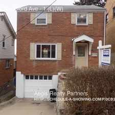 Rental info for 106 W Woodford Ave in the Carrick area