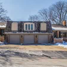 Rental info for 4922 Florence Downers Grove DUPLEX