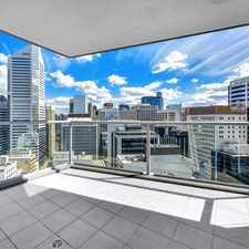 Rental info for FINALLY A TWO BEDROOM UNFURNISHED CBD APARMENT!! in the Brisbane City area