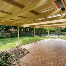 Rental info for SENSATIONAL FAMILY HOME WITH POOL IN FANTASTIC LOCATION in the Gold Coast area