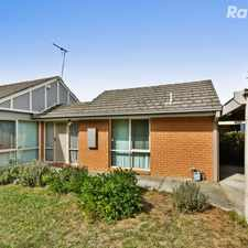 Rental info for A Spacious Family Favourite in the Berwick area