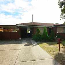Rental info for No better location in the Sydney area