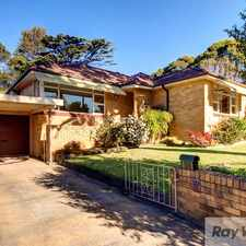 Rental info for Beautiful Family Home in the Kogarah Bay area