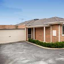Rental info for Hop, skip and a jump to the station! in the Melbourne area