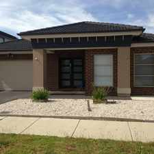 Rental info for Large Family Home! in the Roxburgh Park area