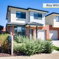 Rental info for Under Application - Immaculate Townhouse in the Melbourne area
