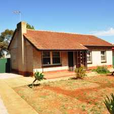 Rental info for TIDY 3 BEDROOM HOME in the Elizabeth Downs area