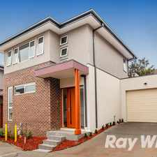 Rental info for Brand New Premium Townhouse!
