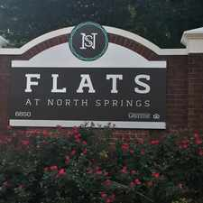 Rental info for The Flats at North Springs in the Sandy Springs area