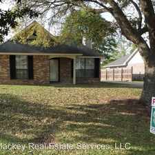Rental info for 17573 SUGAR MILL AVE in the Baton Rouge area