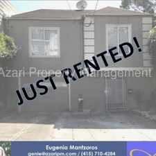 Rental info for AZARI PM - Great Remodeled Panoramic View 3 BR/1 BA Home in Sunnyside/Glen Park in the Sunnyside area