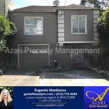 Rental info for AZARI PM - Great Remodeled Panoramic View 3 BR/1 BA Home in Sunnyside/Glen Park in the Mission Terrace area