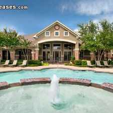 Rental info for Two Bedroom In Tarrant County in the Flower Mound area