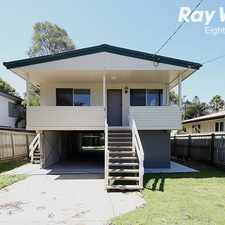 Rental info for NEAT AND TIDY 3 BEDROOM HOME WITHIN WALKING DISTANCE TO KURABY TRAIN STAT in the Kuraby area