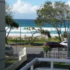 Rental info for MONACO - 2 BEDROOM, FULLY FURNISHED RENOVATED UNIT DIRECTLY OPPOSITE THE BEACH in the Surfers Paradise area
