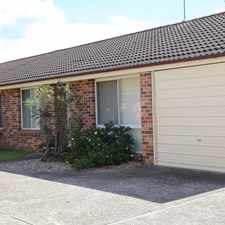 Rental info for Tidy 3 bedroom villa - close to everything in the Sydney area