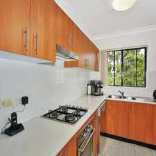 Rental info for MODERN TWO BEDROOM APARTMENT WITH LOCK UP GARAGE in the Sydney area