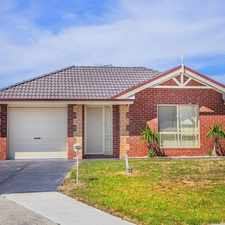 Rental info for Immaculate Home in the Roxburgh Park area
