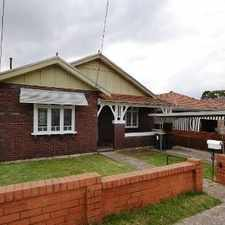 Rental info for Family Home in Ideal Location in the Arncliffe area