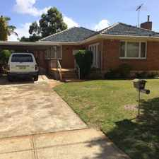 Rental info for TAKE A LOOK AT THIS! in the Perth area