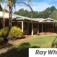 Rental info for 5 ACRES OF PARADISE - HUGE WORKSHOP + POOL - PETS CONSIDERED!