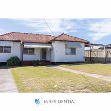 Rental info for NOLLAMARA PROPERTY FOR RENT - 1 WEEK FREE TO SUCCESSFUL TENANT in the Nollamara area