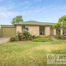 Rental info for WELL LOVED FAMILY HOME WITH GREAT GARDENS! in the Adelaide area