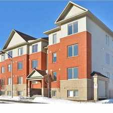 Rental info for 585 Stonefield Private #3 in the Gloucester-south Nepean area
