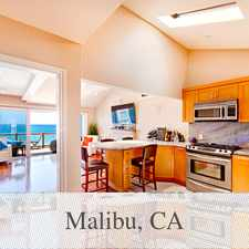 Rental info for Malibu - Superb House Nearby Fine Dining